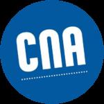 Deze afbeelding toont het logo van het Nationaal Audiovisueel Centrum in Luxemburg